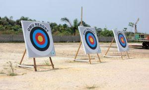 archer games at omu resort