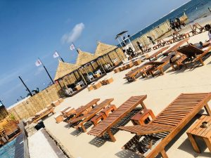 fun places at oniru private beach